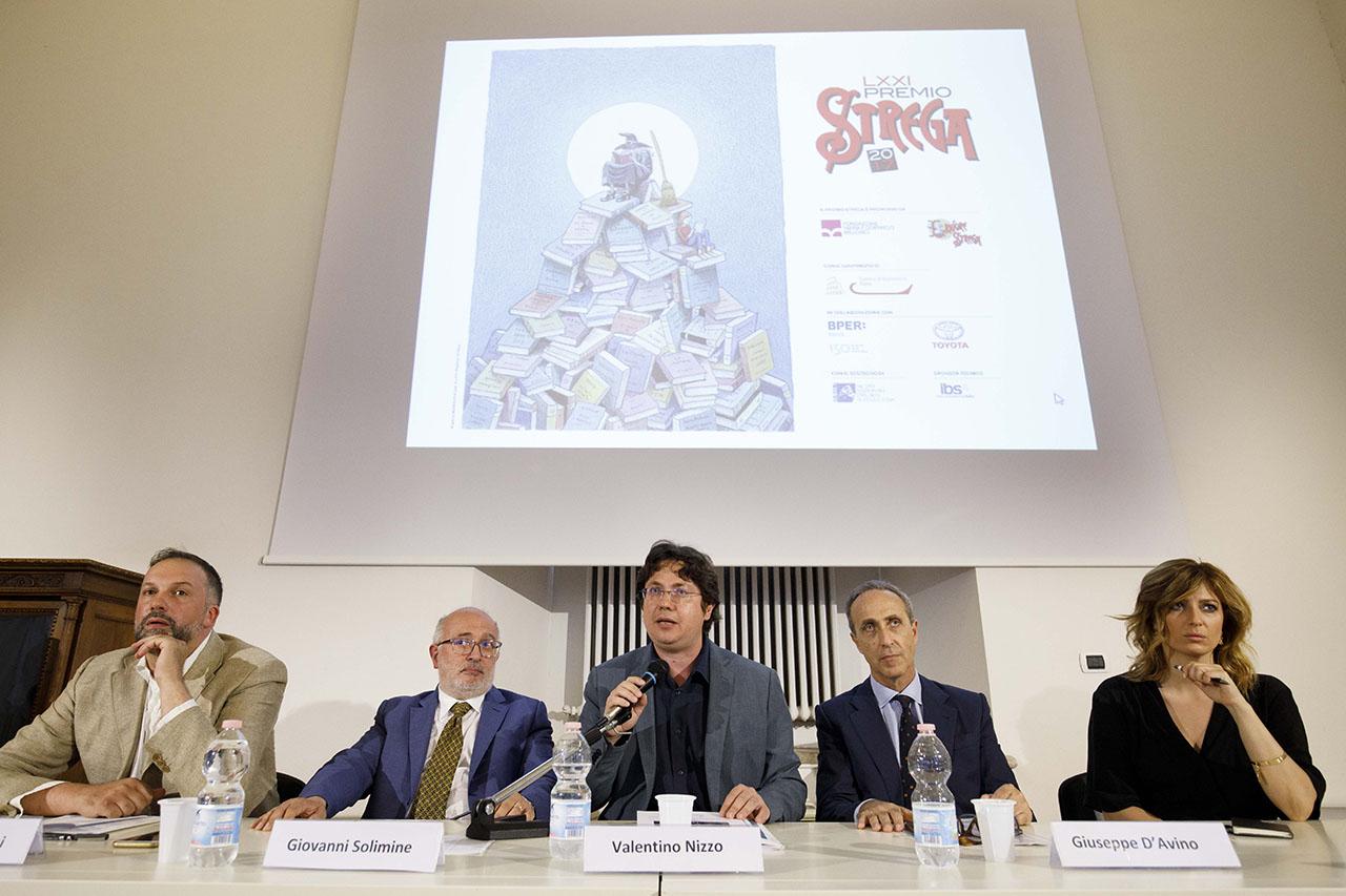Roma, Valle Giulia 05 07 2017 Conferenza stampa di presentazione del VXXI Premio Strega ©Musacchio / Ianniello / Pasqualini