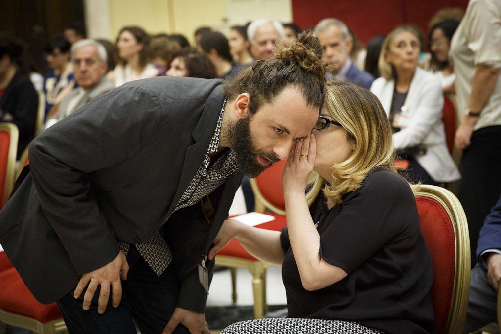 Vanni Santoni e Teresa Ciabatti -  Roma, Camera dei Deputati 13 06 2017 Premio Strega Giovani a Paolo Cognetti ©Musacchio & Ianniello