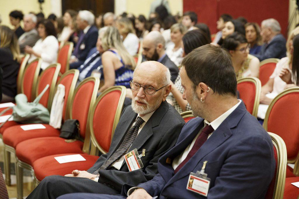 Ferruccio Parazzoli e Matteo Nucci  - Roma, Camera dei Deputati 13 06 2017 Premio Strega Giovani a Paolo Cognetti ©Musacchio & Ianniello