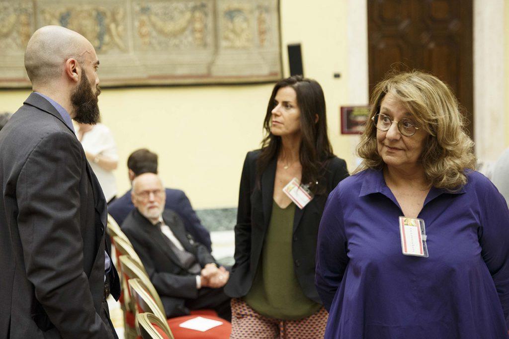 Chiara Marchelli e Wanda Marasco - Roma, Camera dei Deputati 13 06 2017 Premio Strega Giovani a Paolo Cognetti ©Musacchio & Ianniello