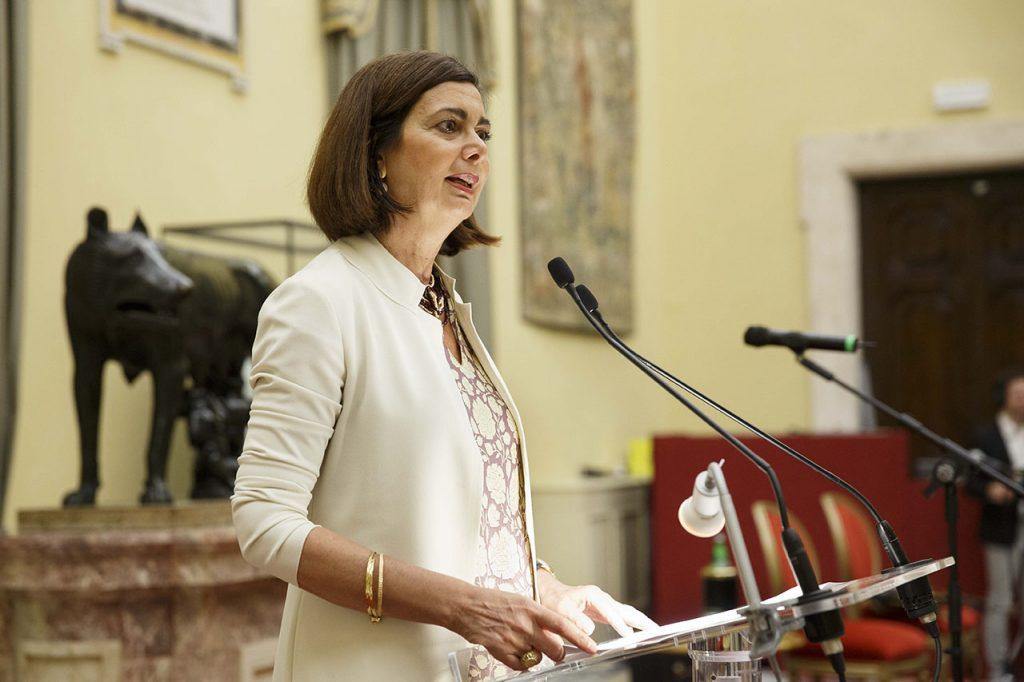 Laura Boldrini presidente della Camera dei Deputati - Roma, Camera dei Deputati 13 06 2017 Premio Strega Giovani a Paolo Cognetti ©Musacchio & Ianniello